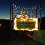 Look for our float in the Parade of Lights every December!