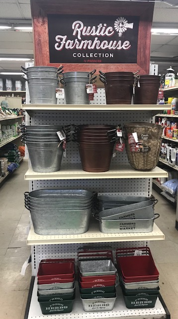 farmhouse buckets