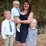 Stephanie Spann, Manager with her 3 children - Richard, Madison & Jacob