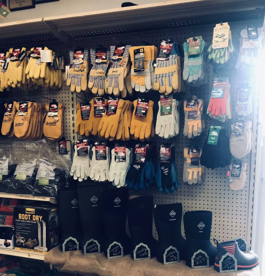 Gloves & Muck Boots